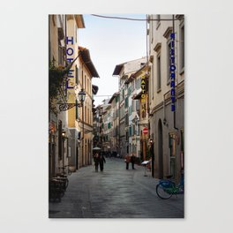 Via Faenza - Florence, Italy Canvas Print
