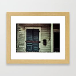 {vacancy} Framed Art Print