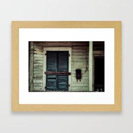 {vacancy} Framed Art Print