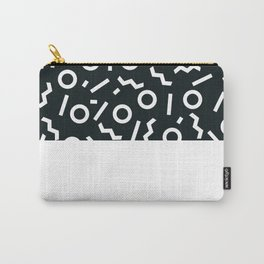 Memphis pattern 47 Carry-All Pouch