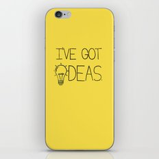 I've got ideas! iPhone Skin