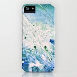 Ocean White iPhone Case
