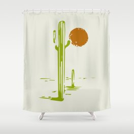 Mezcal Adventure Shower Curtain
