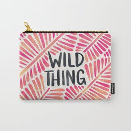 Wild Thing – Pink Ombré & Black Palette Carry-All Pouch