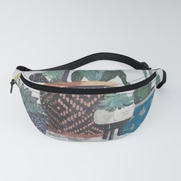 Cactus and succulents garden Fanny Pack