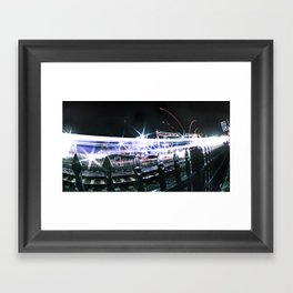 Sprint Framed Art Print