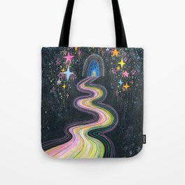 New path reveals itself Tote Bag
