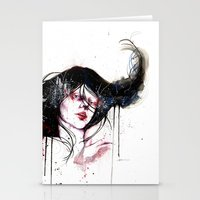burlesque Stationery Cards featuring Burlesque by Chelsea Brouillette