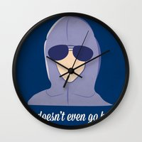 She doesn't even go here!  Wall Clock