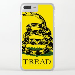 Don't Thread On Me Flag Clear iPhone Case