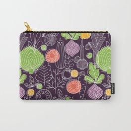 Vegetable Pattern Scandinavian Design Carry-All Pouch