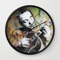 django Wall Clocks featuring Django by MATEO
