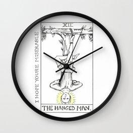 I Hope You're Miserable // Moose Blood Wall Clock