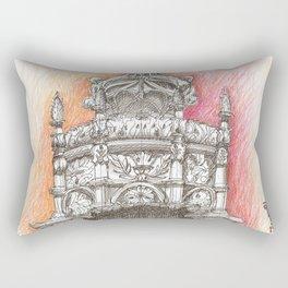 Sta Maria crown Rectangular Pillow