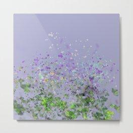 Flower Blast Metal Print