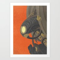 bioshock infinite Art Prints featuring SongBird - BioShock Infinite by LindseyCowley