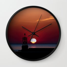 Another Sunset. Wall Clock