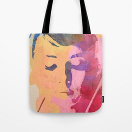 water color portrait Tote Bag
