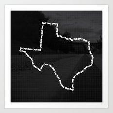 Ride Statewide - Texas Art Print