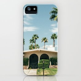 Memory form California iPhone Case