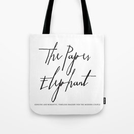The Paper Elephant - Cients Tote Bag