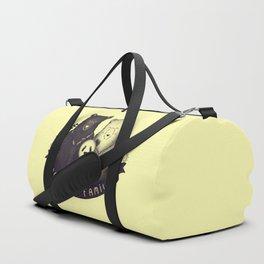 Modern Bear Family (Yellow) Duffle Bag