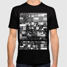 deconstructions 3A Mens Fitted Tee MEDIUM Black