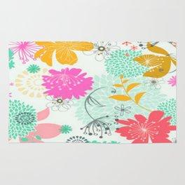 Floral vector pattern best idea Rug