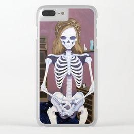 Body Dysmorphia Clear iPhone Case