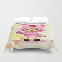 one piece Duvet Covers featuring One Piece: TonyTony Chopper by Neo Crystal Tokyo