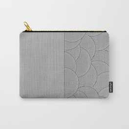 Two Lines Carry-All Pouch