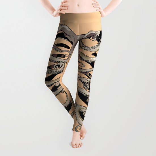 Your Rib is an Octopus Leggings