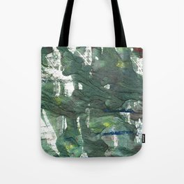 Feldgrau abstract watercolor Tote Bag
