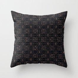 Autumn Tiles (Night ver.) Throw Pillow