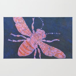 batik Bee Rug