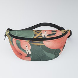 Two Flamingos Fanny Pack