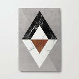 Marble Abstract Metal Print