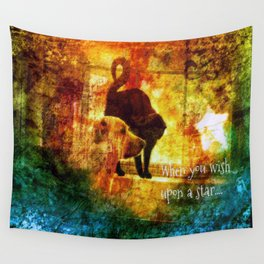 Wishes Duo Wall Tapestry