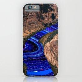 watercolor bend  iPhone Case