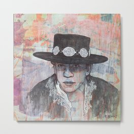 Stevie Ray Vaughan - Couldn't Stand the Weather Metal Print