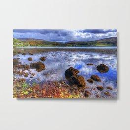 Uig, Isle of Skye Metal Print