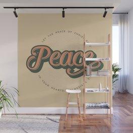 """PEACE"" Bible Verse Print Wall Mural"