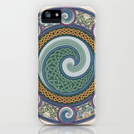 Ninth Wave Shield iPhone Case