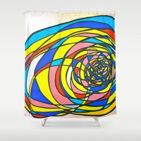 egg Shower Curtains featuring EGG by Shouta Itose