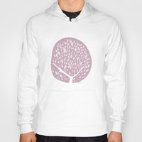 tree of life Hoodies featuring Tree of life - lilac by Seven Roses