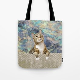 Soft Cat Tote Bag