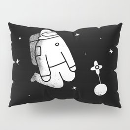 The Lonely Spaceman Pillow Sham