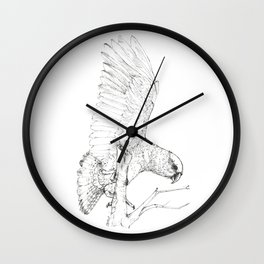 Black Kea Wall Clock