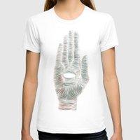 hamsa T-shirts featuring HAMSA by VIGGGAR