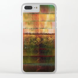 The Surface of Solitude-Infinity Clear iPhone Case